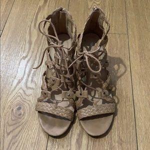 Merona Shoes - Tan Heels